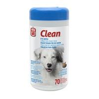 Lingettes non parfumées Dogit Clean pour yeux, 15,2 x 20,3 cm (6 x 8 po), paquet de 70