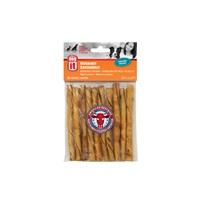 Bâtonnets torsadés Dogit en peau de bœuf d'élevage américain, arôme de poulet, 12,7cm (5 po), paquet de 10