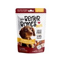 Os Better Bones Zeus, arôme de poulet barbecue, enrobés de poulet, paquet de 12