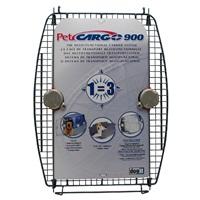 Porte avant en métal avec 2 verrous pour cage de transport CargoDogitDesign, modèle900