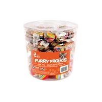 Balles en mousse Furry Frolics Cat Love, marbrées et arc-en-ciel, 90 jouets