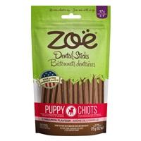 Bâtonnets dentaires Zoë pour chiots, Cannelle, petits, 175 g (6,2 oz)