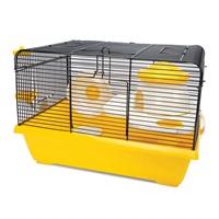 Cage Living World pour hamsters nains, Cottage, L. 42,5 x l. 31 x H. 28 cm (16,7 x 12,2 x 11 po)