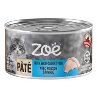 Pâté Zoë avec poisson sauvage pour chats, 85 g (3 0z)