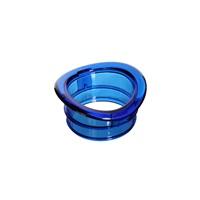 Anneau de retenue de rechange pour cage Habitrail Twist, bleu transparent