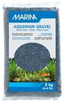 Gravier décoratif Marina, bleu marine, 2kg (4,4lb)