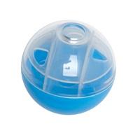 Balle à régals Furry Frolics Cat Love, bleue, diam. 5 cm (2 po)