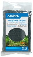 Gravier décoratif Marina, noir, 10 kg (22 lb)