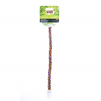 Perchoir Knot-A-Rope Living World en coton, multicolore, diam. 16 mm, long. 38 cm