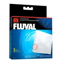 Blocs de polyester/mousse pour filtre à moteur Fluval C3, paquet de 3