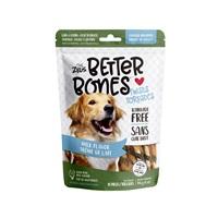 Os Better Bones Zeus, arôme de lait, torsades enrobées de poulet, paquet de 10