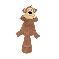 Jouet Stuffies Dogit pour chiens, peluche aplatie, singe, très grande, 49cm (19,5po)