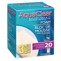 Blocs de mousse filtrante pour AquaClear 20/Mini, paquet de 3