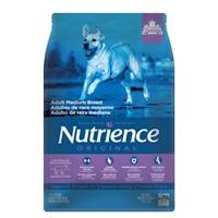 Aliment Nutrience Original, Adultes de race moyenne, Agneau et riz brun, 5 kg (11 lb)