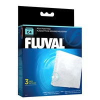 Blocs de polyester/mousse pour filtre à moteur Fluval C4, paquet de 3