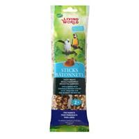 Bâtonnets Living World pour perroquets, saveur de miel, 140 g (5 oz), paquet de 2