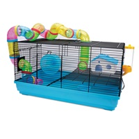 Cage Living World pour hamsters nains, Playhouse, L. 58 x l. 32 x H. 31,5 cm (22,8 x 12,5 x 12,4 po)