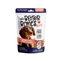 Os Better Bones Zeus, arôme de saumon, os enrobés de poulet, paquet de 12