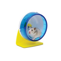Roue d'exercice Living World pour hamsters, 14 cm (5,5 po)