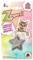 Jouet Zingers! Cat Love fait d'herbe à chat, étoile, 8,5 g