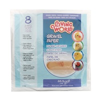 Papier-gravier Living World, grand, diam. 35,5 cm, paquet de 8