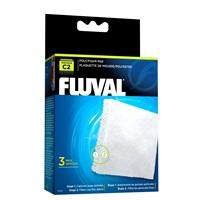 Blocs de polyester/mousse pour filtre à moteur Fluval C2, paquet de 3