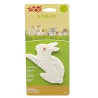 Jouet à gruger Nibblers Living World en luffa, lapin