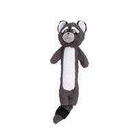 Jouet Stuffies Dogit pour chiens, peluche animal de la forêt, raton-laveur, 39cm (15,5po)