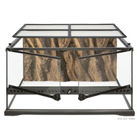 Terrarium en verre Exo Terra, moyen, bas, 60 x 45 x 30 cm (24 x 18 x 12 po)