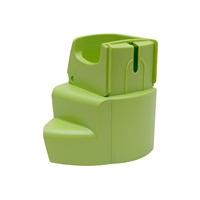 Support d'assemblage de la roue et du bol à nourriture Habitrail OVO, vert lime