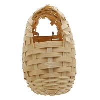 Nid Living World en bambou pour pinsons, petit, 8x9x12cm (3,1x3,5x4,7po)