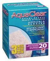 Neutralisant d'ammoniaque pour filtre AquaClear 20/Mini, 198g (7oz), paquet de 3