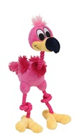 Jouet Puppy Luvz Dogit en peluche avec organe sonore, flamant rose, 22 cm (9 po)
