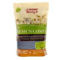 Litière Fresh 'N Comfy Living World, bleue, 20L (1220po cubes)