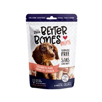 Os Better Bones Zeus, arôme de saumon, mini, paquet de 12