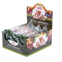 Régals Living World pour petits animaux, bâtonnets, arôme de légumes, 45 g (1,5 oz), paquet de 12