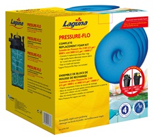Blocs de mousse de rechange pour filtres pressurisés Pressure-Flo Laguna PT1717 et PT1727, 27 cm, paquet de 4