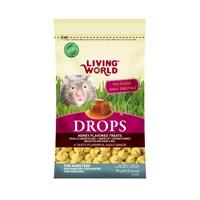 Régals Drops Living World pour hamsters, saveur de miel, 75g (2,6oz)