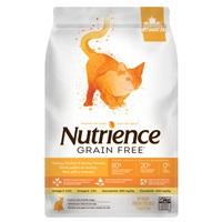 Aliment Nutrience Sans grains pour chats, Dinde, poulet et hareng, 2,5 kg (5 lb)