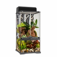 """Terrarium de forêt tropicale et paludarium de pointe Exo Terra, mini très haut, 30 W x 30 D x 60 H cm (12"""" x 12 """"x 24"""")"""