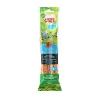 Bâtonnets Living World pour perruches ondulées, saveur de miel, 60 g (2 oz), paquet de 2