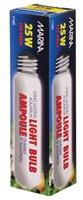 Ampoule incandescente tubulaire Marina, 25 W, paquet de 1