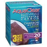 Charbon activé pour AquaClear 20/Mini, 135g (4,8 oz), paquet de 3