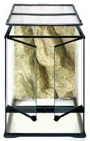 Terrarium en verre Exo Terra, petit, haut, 45 x 45 x 60 cm (18 x 18 x 24 po)