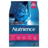 Aliment Nutrience Original, Chats adultes d'intérieur, Poulet avec riz brun, 5kg (11 lb)