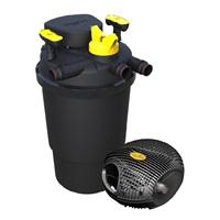 Système complet ClearFlo 2000 Laguna avec pompe, filtre et stérilisateur UV-C, pour bassins contenant jusqu'à 6 000 L (2 000 gal US)