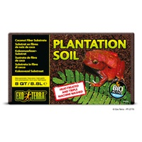 Substrat tropical Plantation Soil Exo Terra, bloc, 8,8 L (8 pte)