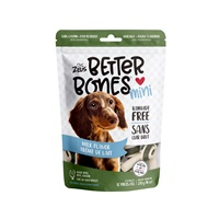 Os Better Bones Zeus, arôme de lait, mini, paquet de 12