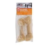 Os noué Dogit en cuir brut 100 %, 16,4 cm (6,5 po), paquet de 2