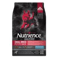 Aliment SubZero Nutrience Sans grains pour chiens de petite race, formulation Gibier des Prairies, 2,27 kg (5 lbs)